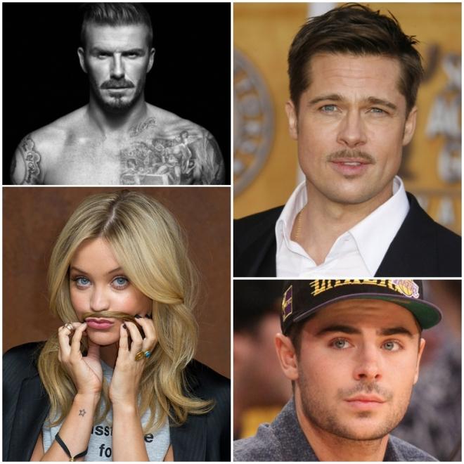 Celebrities Movember