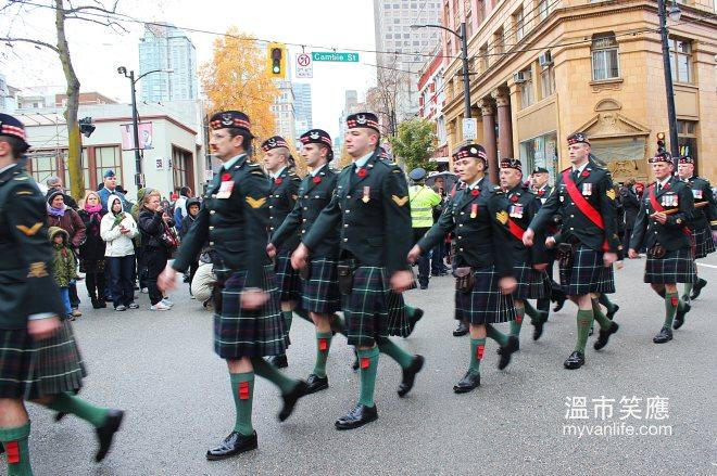 Remembrance Parade 1