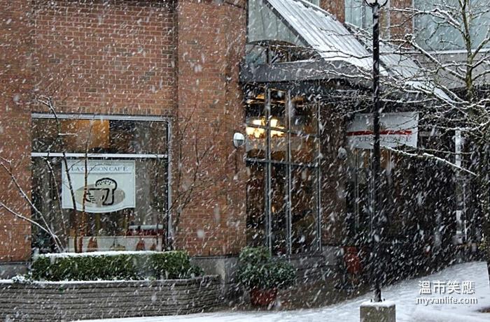 coffeeshopLa Cuisson in snowLa Cuisson