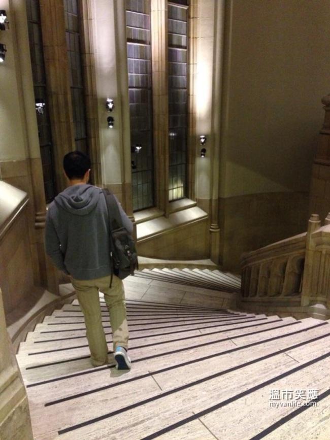 USTripWU Library StairsUWLibrary