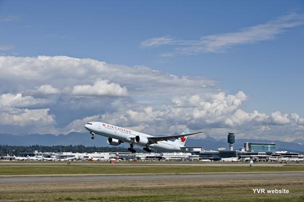 attractionRAircraft DepartureYVR